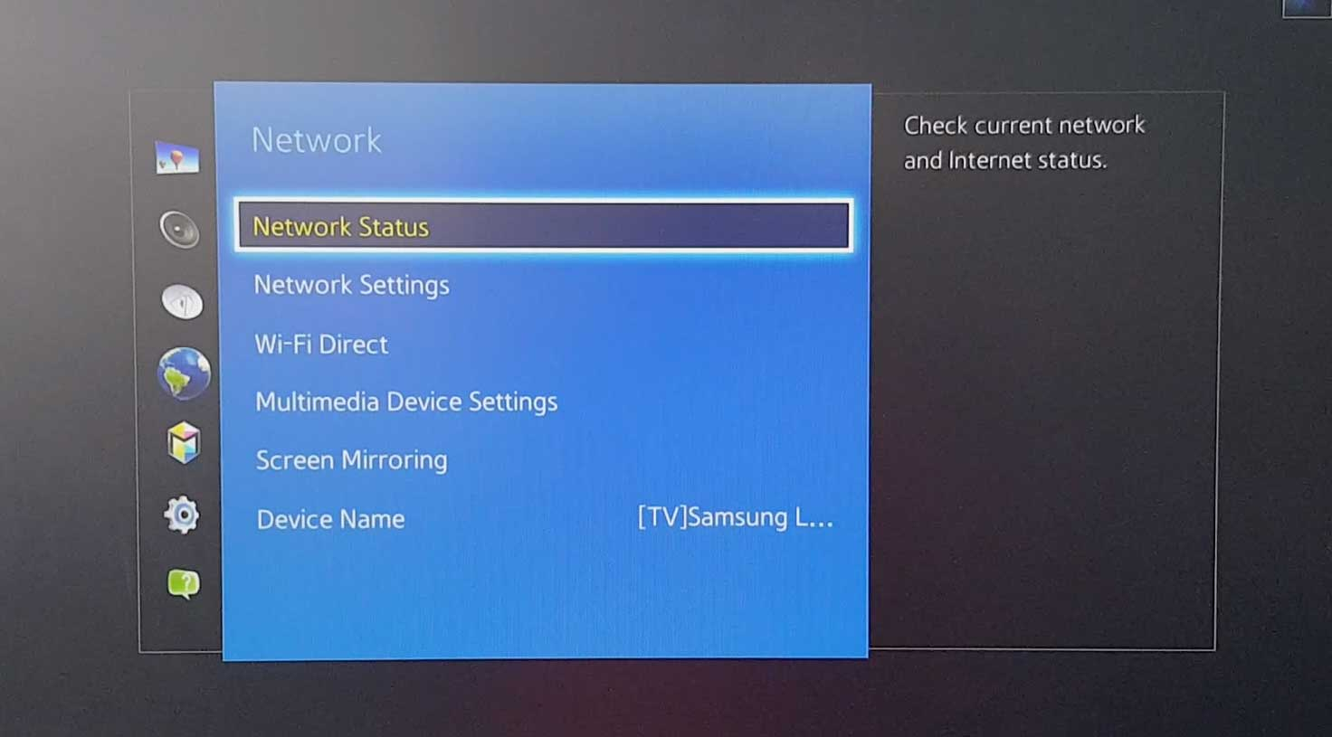 How to set up Samsung TV