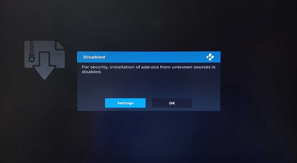 BulletVPN-OpenELEC-Addons-Uknown-Sources-Disabled.jpg